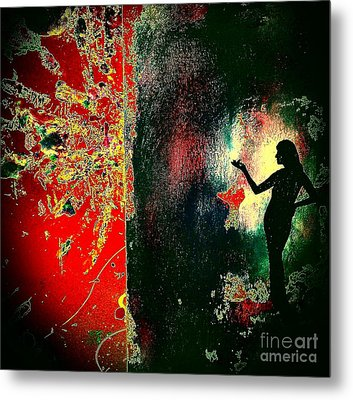 Her Power To Create Metal Print
