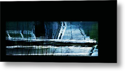 Her Watery Grave Metal Print by Theresa Tahara