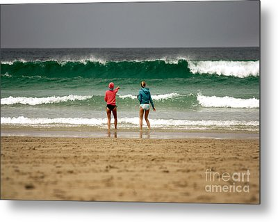 Metal Print featuring the photograph Here Comes The Big One by Terri Waters