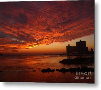 Here She Comes Metal Print by Laurence Oliver