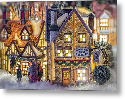 Here We Come A Caroling Metal Print by Caitlyn  Grasso