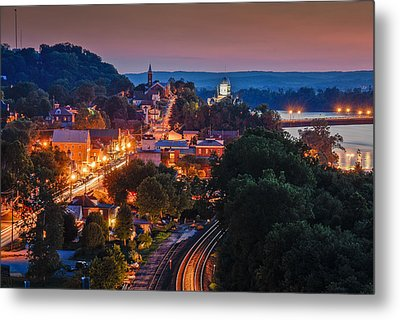 Hermann Missouri - A Most Beautiful Town Metal Print by Tony Carosella