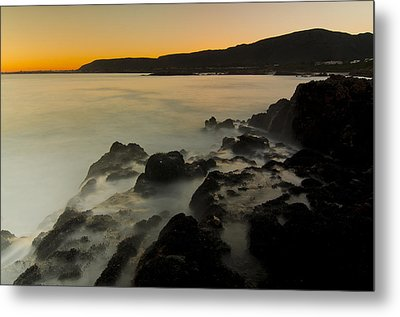 Hermanus Sunset Metal Print by Aaron Bedell