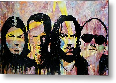 Heroes Of The Day Metal Print by Chad Rice
