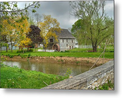 Herr's Mill Metal Print by Dyle   Warren