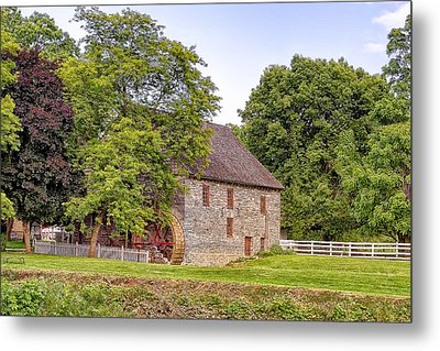 Metal Print featuring the photograph Herr's Mill by Jim Thompson