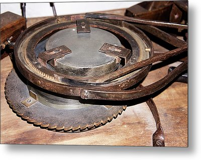 Herschel's Mirror Grinder-polisher Metal Print by Sheila Terry