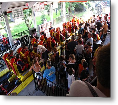 Hershey Park - 121212 Metal Print by DC Photographer