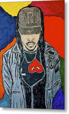 He's Got Swag Metal Print by Chrissy  Pena