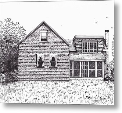 Hettinger Family Farm Metal Print
