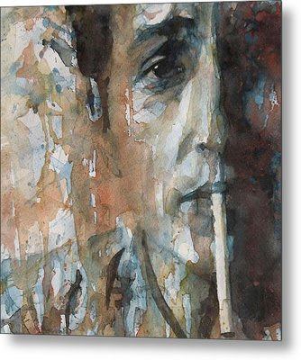 Hey Mr Tambourine Man Metal Print by Paul Lovering