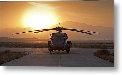 Hh-60 Pavehawk Metal Print by Tim Grams