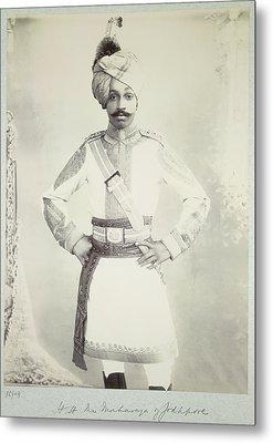 Hh The Maharaja Of Jodhpore Metal Print by British Library