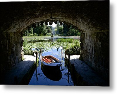Hidden Boat Metal Print by Charlie Brock