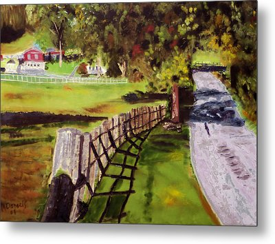 Hidden Brook Farm Metal Print