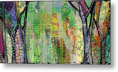 Hidden Forests II Metal Print by Shadia Derbyshire