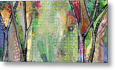 Hidden Forests IIi  Metal Print by Shadia Derbyshire