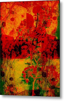 Hidden Garden Metal Print by Ann Powell