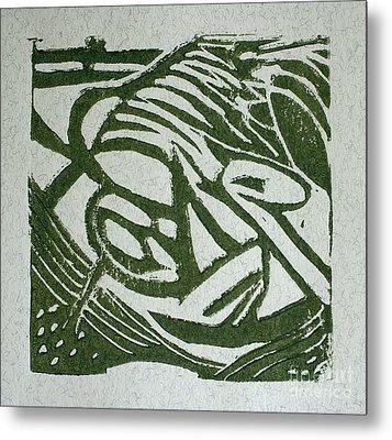 Hidden Horse Metal Print