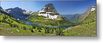 Metal Print featuring the photograph Hidden Lake In Glacier National Park by Sebastien Coursol