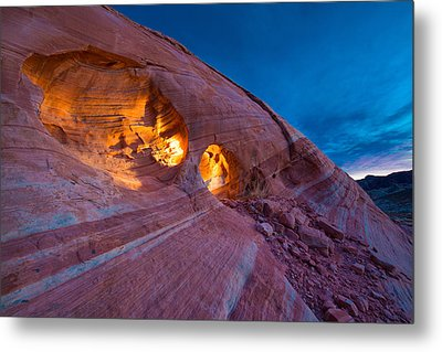 Hidden Light Metal Print by Chad Dutson