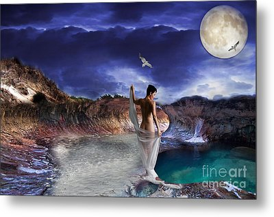 Metal Print featuring the digital art Hidden River by Liane Wright