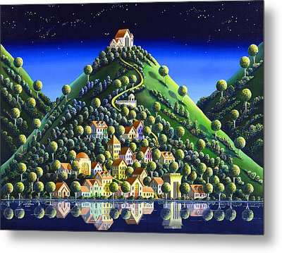 Hidden Village 21 Metal Print by Andy Russell