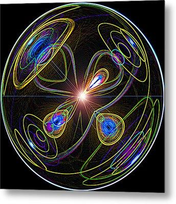 Higgs Boson Metal Print