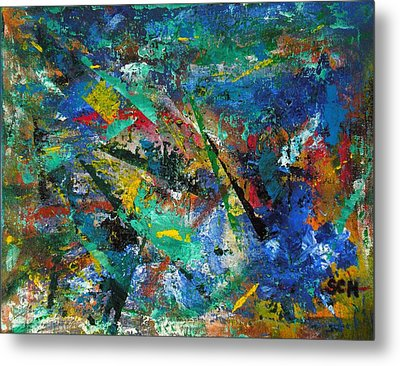 Higgs Field Activity -or- Paint Metal Print by Scott Haley