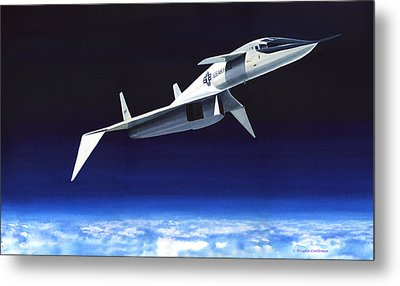 High And Fast Metal Print by Douglas Castleman