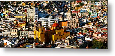 High Angle View Of A City, Basilica Metal Print by Panoramic Images
