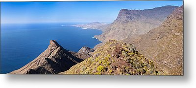 High Angle View Of Coast, Anden Verde Metal Print by Panoramic Images