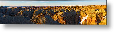 High Angle View Of White River Overlook Metal Print by Panoramic Images