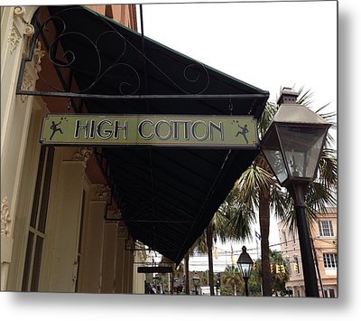 High Cotton Metal Print by M West