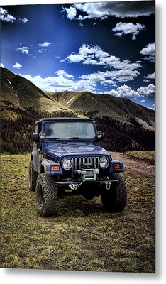 High Country Adventure Metal Print