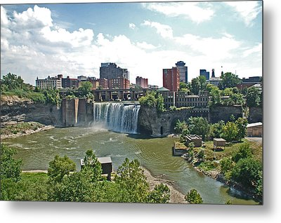 High Falls Metal Print by Aimee L Maher Photography and Art Visit ALMGallerydotcom