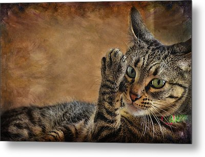 High Five Metal Print