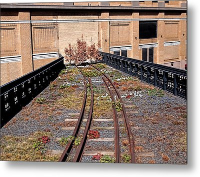 High Line Spur Metal Print