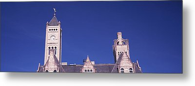 High Section View Of The Union Station Metal Print by Panoramic Images