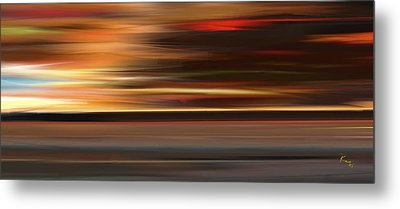 High Speed 3 Metal Print