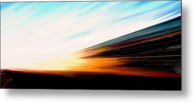 High Speed 6 Metal Print