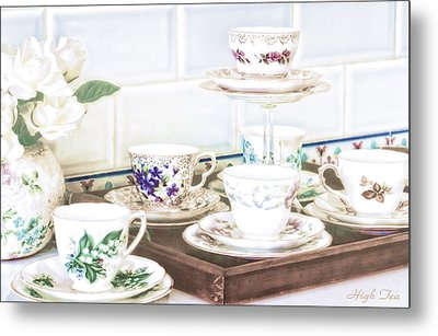 High Tea Metal Print by Holly Kempe