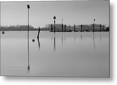 High Tide Ripples Metal Print