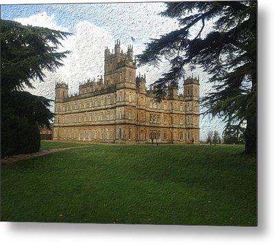 Highclere Castle Downton Abbey 2 Metal Print