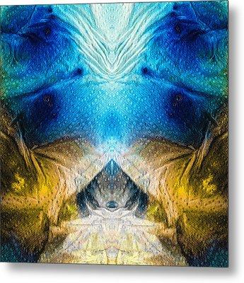 Higher Love Art By Sharon Cummings Metal Print