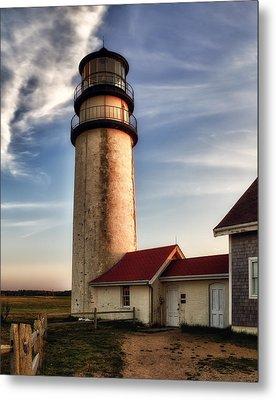 Highland Lighthouse Metal Print by Mark Papke
