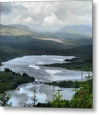 Highland Loch At Lochaber Metal Print