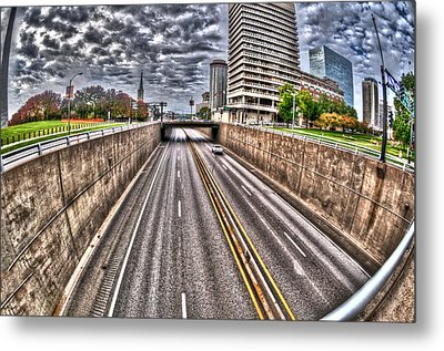 Metal Print featuring the photograph Highway Into St. Louis by Deborah Klubertanz