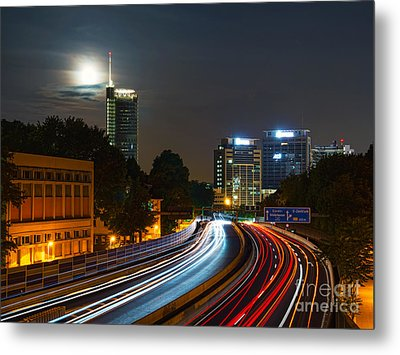 Highway To Essen Metal Print
