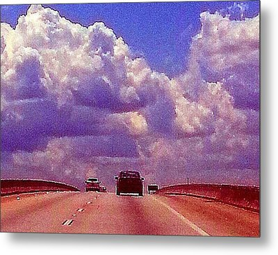 Metal Print featuring the photograph Highway To Heaven Too by Joetta Beauford